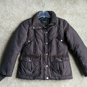 MaxMara Weekend brown winter coat puffer S 6